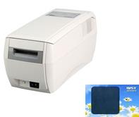 スター精密社製のオンライン型カードリライタTCP300と接続